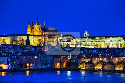 Old Prague cityscape Übersicht