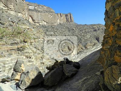 Oman, Berge, Landschaft von Omani großen Canyon