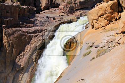 Oranje River Canyon und Steinwüste
