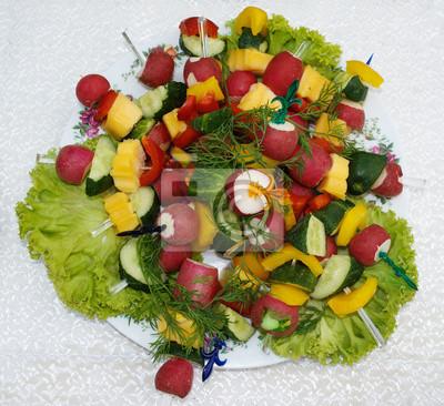 Original-Gemüse Vorspeise