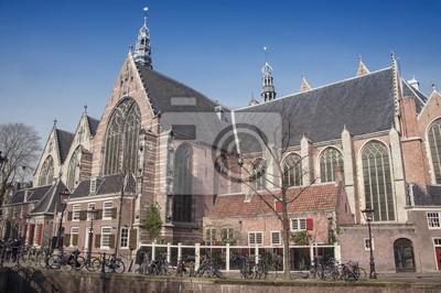 Oude Kerk (Kirche) ist das älteste Gebäude Amsterdam