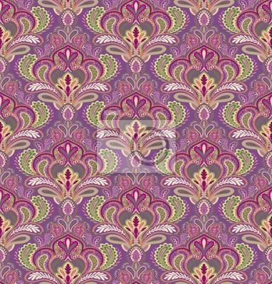 Paisley nahtlose Muster in editierbare Vektor-Datei