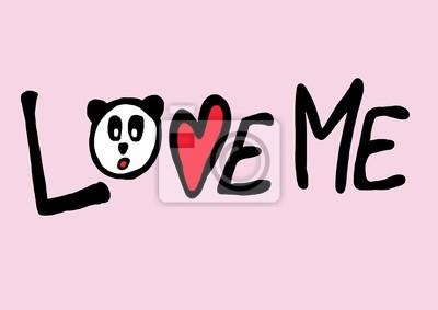 Panda-Liebe