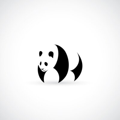 Poster Panda-Symbol