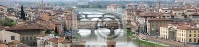 Panorama-Blick auf Florenz