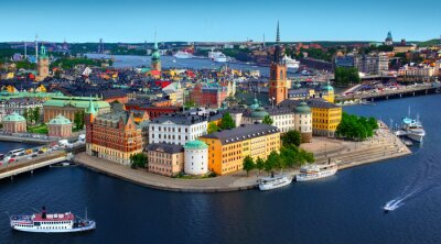 Poster Panorama of Stockholm, Sweden