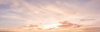 Poster Panorama Sonnenuntergang Himmel