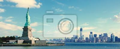 Poster Panorama über Manhattan, New York City