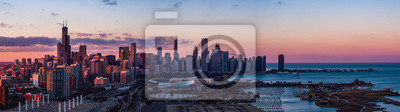 Poster Panorama von Chicago