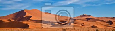 Poster Panorama von Sossus Dünen, Namibia