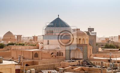 Panorama von Yazd - Wüstenstadt