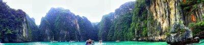 Poster Panoramic View Of Phi Phi Island