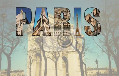 Paris collage of images