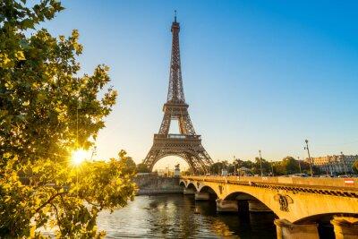 Poster Paris Eiffelturm Eiffelturm Eiffel