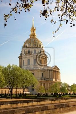 Paris, Napoleon Les Invalides im Frühjahr, Frankreich