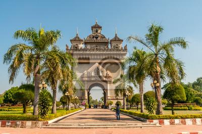 Patuxai Tor in Vientiane Stadt