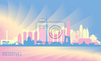 Peking Skyline der Stadt