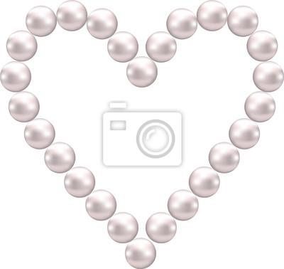 Perlenherzen