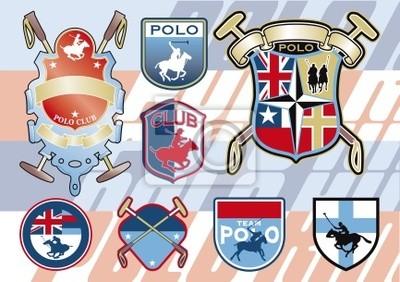 Pferd Polo Abzeichen