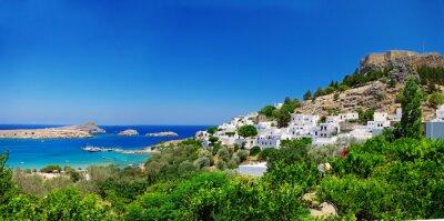 Pictorial griechischen Insel - Rhodos ( Lindos )