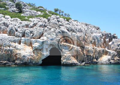 Piraten-Höhle bei Kekova, Antalya.