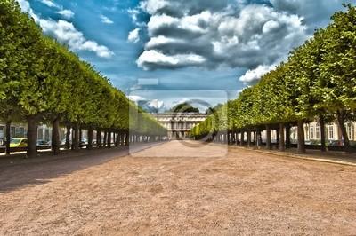 Platz Carrière Palais du Gouverneur à Nancy en Lorraine HDR