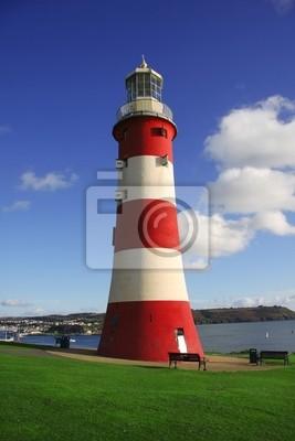 Plymouth, Leuchtturm, England