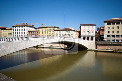 Ponte di Mezzo, Pisa, Italien