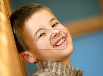 Portrait des jungen Jungen