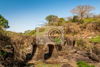 Portugiesisch Brücke in der Nähe von Tis Issat