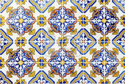 Portugiesische Fliesen Azulejos De Padrão Faro Portugal - Portugiesische fliesen azulejos