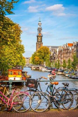 Poster Prinsengracht in Amsterdam