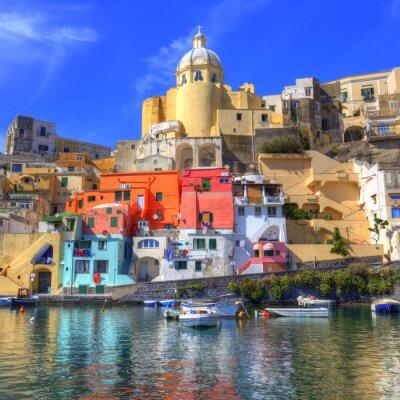 Poster Procida, Isola nel Mar Mediterraneo, Napoli
