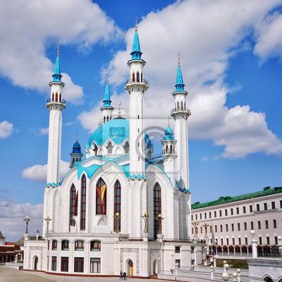 Qolsharif Moschee in Kasaner Kreml - die größte in Russland