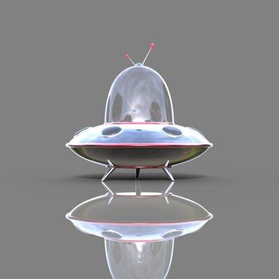Poster Raumschiff