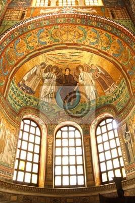 Ravenna, San Vitale, berühmte Mosaik, Italien