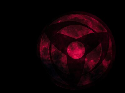 Poster red sphere