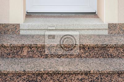 Renovierung Und Erganzung Einer Alten Treppe Aus Terrazzo Mit