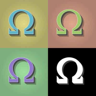 Poster Retro-Symbol
