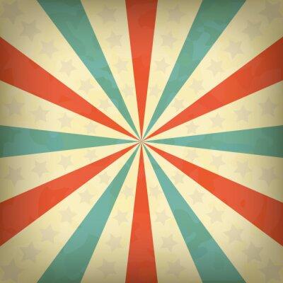 Poster Retro-Vektor-Hintergrund für Vintage-Design