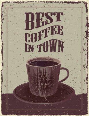 Poster Retro-Vintage Coffee Poster