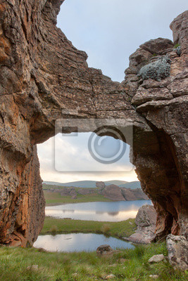 Rock-Brücke bei Sehlabathebe NP