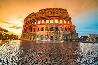 Poster Rom, Kolosseum. Italien.