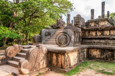 Ruinen in Polonnaruwa