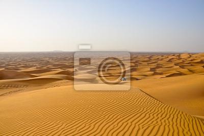 Safari in der Wüste der Vereinigten Arabischen Emirate, Dubai.