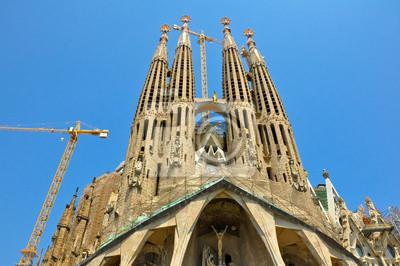Sagrada Familia. Barselona. Spanien.