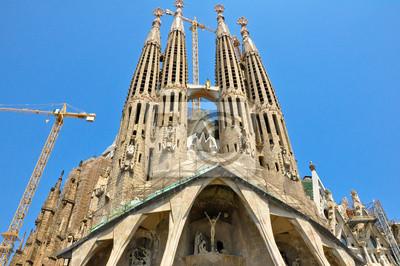 Sagrada Família. Barselona. Spanien.