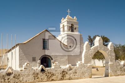 San Pedro de Atacama Kirche
