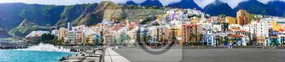 Santa Cruz de La Pama - capital of La Palma, Canary islands of Spain