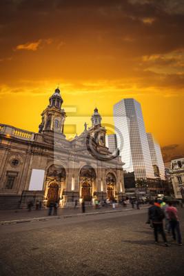Santiago de Chile Innenstadt